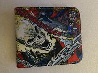 NEW Marvel Comics Ghost Rider Comic Art Durable Nylon Bifold Wallet Johnny Blaz