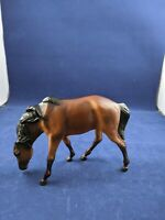 """Breyer Reeves horse model small Brown Grazing Mare odd size ?? 4""""x6"""" Unknown"""