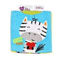 Parents Choice Towel Bib 2 Pack New
