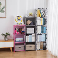 4/5 Tiers DIY Bookcase Wall Bookshelf Leaning Wall Shelf Shelving Ladder Storage
