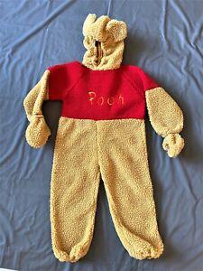 Plush Disney Store Talking Winnie The Pooh Halloween Costume Size 4T 5T 6T