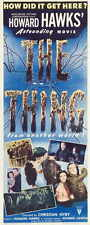 THE THING FROM ANOTHER WORLD Movie POSTER 14x36 Insert James Arness Kenneth