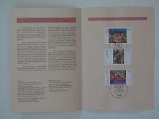 (95j3) Bund Erinnerungsblatt 1995 mit ESST Mi.Nr. 1774-1776 Deutsche Malerei