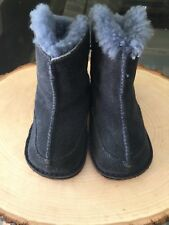 Ugg boots Infant Size M Navy Sherpa