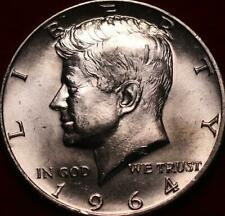 Uncirculated 1964-D Denver Mint Silver Kennedy Half