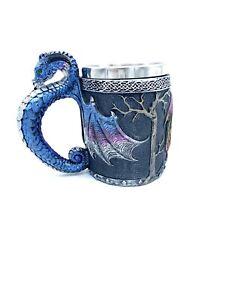 Dragon Tankard Beer Coffee Tea Mug Stainless Steel Best Gift For Christmas
