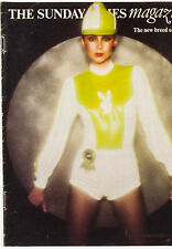 MARIE HELVIN PLAYBOY Brian Duffy DAVID BAILEY Tom Conti SUNDAY TIMES Magazine UK