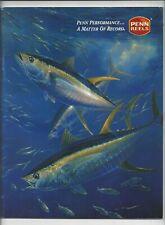 PENN REELS Fishing Tackle Catalog 1998