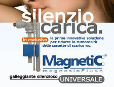 Galleggiante silenzioso universale Bampi Magnetic scarico WC bagno cassetta