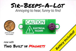 Annoying Beeping Office Prank Joke Noise Maker Annoy-A-Tron Cricket w/ Magnets