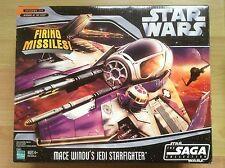 Star Wars MACE WINDU Jedi Starfighter. 2006 MEGA COLLECTOR ! NEW !