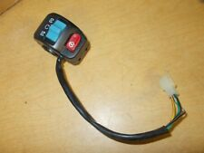 """Scooter Moped Control Switch 3/4"""" RH Right Run/Off Kill *FREE SHIPPING*"""