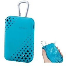 Sony LCS-THU/L Carrying Case for the Cyber-shot LCSTHU BLUE /GENUINE