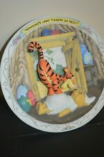 Bradford Exchange Winnie The Pooh And Friends Plate-Bouncing Is What Tiggers