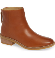 Sperry Top-Sider Women's Maya Belle Leather Chelsea Booties Tan, Pick A Size