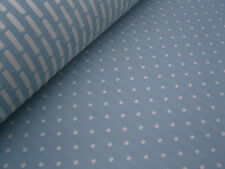 JOHN LEWIS ' PROVENCE' FABRIC IN 'DUCK EGG'- 10.0M ROLL  RRP £25/M  FREEPOST