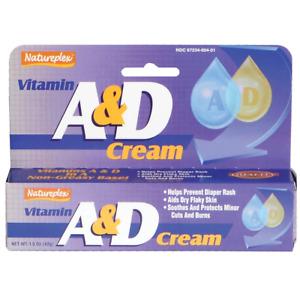 Natureplex Vitamin A & D Cream, 1.5 oz (42.5 g), Body Moisturiser, Nappy Cream