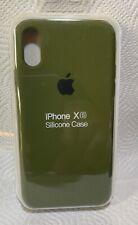 Original Apple iPhone X / Xs Silikon Case in Kaktusgrün