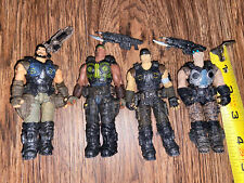 2013 Epic Games Gears of War 4in Action Figure Lot