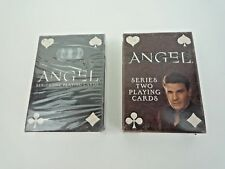 BUFFY THE VAMPIRE SLAYER / ANGEL SERIES 1 & SERIES 2 PLAYING CARDS