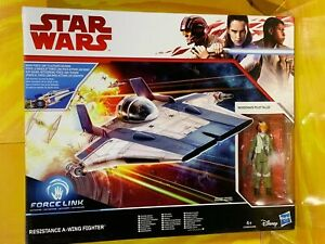 Star Wars - The Last Jedi - Resistance A-Wing Fighter with Tallie