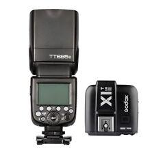 Godox TT685S 2.4G HSS TTL Camera Flash + X1T-S Trigger for Sony MI Camera