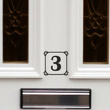 2 X HOUSE NUMBER STICKER / DOOR NUMBER STICKER / HOUSE OFFICE SIGN DOOR NUMBER A