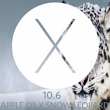 Mac OSX snow leopard 10.6 Installer Bootable USB OS X macbook Pro Air iMac mini