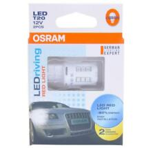 OSRAM  W21W LED 7705R RED light 12V3W T20 W3x16d License plate lamp ceiling lamp