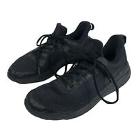 Mens 9.5 Nike Renew Rival Black Oil Grey Running Shoes Low Top Lace Up Training