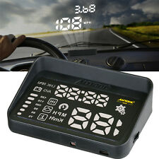 AUTOOL OBD2 HUD Windshield Head Up Display Overspeed Waring Code Reader MPH&KMH