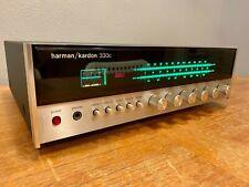 New ListingHarman Kardon 330c Am/Fm Stereo Receiver Vintage Audiophile Classic Guc