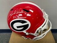 Herschel Walker signed Georgia Bulldogs - Full Size Speed Helmet - Heisman 82