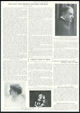 1927 Emma Thursby 2 photo biography vintage print article