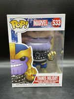 Funko Pop Thanos in Ugly Sweater #533 Marvel Holidays Christmas Vinyl Figure