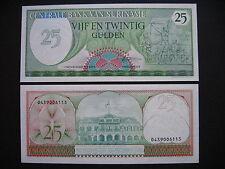 SURINAME  25 Gulden 1985  (P127b)  UNC
