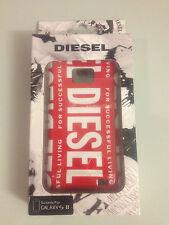Diesel KANT Rosa Snap cubierta Shell Duro Recubrimiento Estuche Nuevo SAMSUNG GALAXY S II