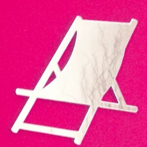 Deckchair Shaped Acrylic Mirrors (Several Sizes Available)