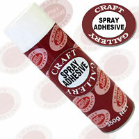 Craft Gallery Clear Gloss Spray Coating Finish Protective Spray Adhesive Glue
