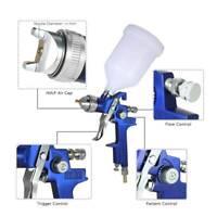 Spray Gun HVLP Gravity Gun Paint Feed Air Spray Gun Kits Nozzle 1.4mm JR