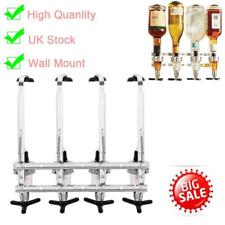 4 BOTTLE WALL MOUNTED & ROTARY STAND DRINKS OPTIC DISPENSER PARTY BAR BUTLER