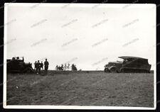 Vintage Photo-sd.kfz-Halbkette-Fahrzeug-wehrmacht-1