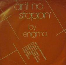 """Enigma(7"""" Vinyl)Ain't No Stoppin'-Creole-CR9-UK-1981-VG/VG"""