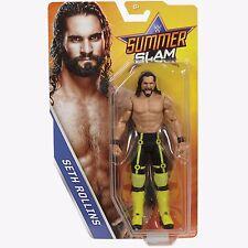 WWE SETH ROLLINS SUMMERSLAM PPV BÁSICO SERIE 2017 FIGURA DE LUCHA MATTEL NXT 51