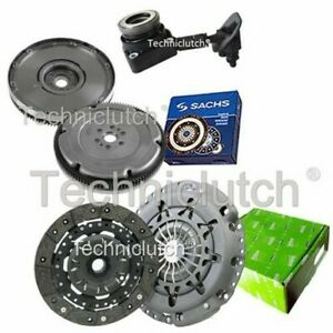 VALEO 2 PART CLUTCH KIT AND SACHS DMF WITH CSC FOR FORD FOCUS HATCHBACK 2.0