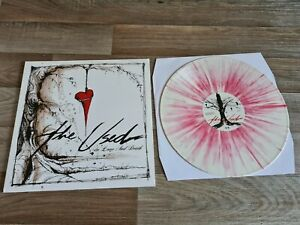 The Used In Love and Death Coloured Vinyl Record Rare Like New limited splatter