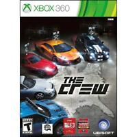The Crew Xbox 360 - Brand New Factory Sealed