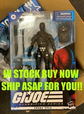 G.I. Joe Classified Series 6-Inch Snake Eyes Action Figure in stock now