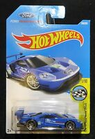 2017 Hot Wheels   New Model 2016 Ford GT Race Speed Graphics  Card #166   HW-26