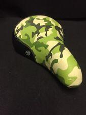 NOS 90's DIAMONDBACK URBAN PRO Camo Camouflage Green Freestyle Bmx Seat Gt Haro